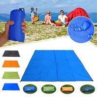 Outdoor Pads 3x3m Camping Mat Equipment For Waterproof Anti Sand Beach Travel Picnic Blanket Folding Mattress Portable Supplies