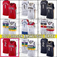 Zion 1 Basketball Williamson Jersey New Orleans