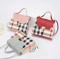 مصمم الأطفال منقوشة حقائب اليد أزياء أطفال بو الجلود حقيبة واحدة الكتف حقيبة الفتيات شعرية حقيبة crossbody سيدة مصغرة محفظة A3625