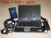 WIFI MDI software with Laptop D630 ready to use Software for GM For Opel Scanner Tech2-Win GDS2