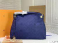 Empreinte Artsy Blue Bag Bag MM Плеча Сумка Tote Empreinte Размер: 46 * 32 * 24см