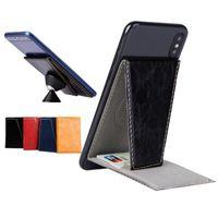 Держатель телефонной карты Стенд ID кредитных карт Case Pocket Bulit в железных листах для магнитных автомобилей, совместимые с iPhone Samsung Android Smartphones