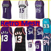 Vince 15 Carter Tracy 1 McGrady Jersey Allen 3 Iverson Formalar John 12 Stockton Steve 13 Nash Grant 33 Hill Karl 32 Malone Basketbol Forması