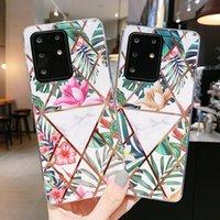2021 гальванические геометрические чехлы телефона для Samsung Galaxy S 21 Ультра S20 FE Note20ultra Note 10 Pro S10 Plus S10E S8 S9 A50 A30S A50S A505 A307 A507 A31 A41