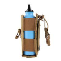 Sacos ao ar livre 600d Nylon Tactical Molle garrafa de água bolsa militar Cantel Capa Holster Viagens CHEETLE SAK SPORT 2021
