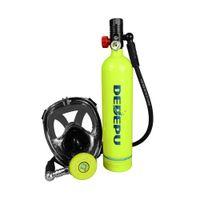 DEDEPU MINI SCUBA Diving Cilinder с 15-25 минут. Возможность 1.0 L Портативная бутылка для аварийного резервного бака