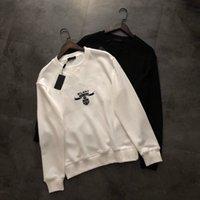 2021 Hommes SweatShirt Sports Classic Sweatshirts Rétro Lettre Broderie Manchons longues Lâche Confortable 480 grammes de tissu Terry Sentence Très beau pull d'automne