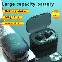 MD06 TWS سماعة ستيريو تعمل باللمس سماعة بلوتوث اللاسلكية سماعات ذكية للحد من الضوضاء سماعات الألعاب مع ميكروفون للهاتف الذكي