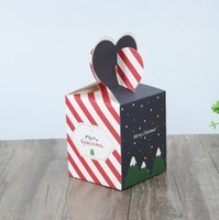 Christma Eve Fruit Emballage Présent Boîtes Créatif Creative Candy Case Créatif Case Creative Sacs d'impression Sacs KKB7095