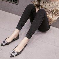 Women's Leggings Spring Antumn Plus Size Elastic Waist Imitation Jeans High Out Wear Stretch Skinny Pencil Pants Woman 5XL