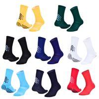 2021 fashion new men's football socks breathable non-slip sports socks cotton