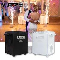 V-show USA Entrepôt 4pcs avec Flightcase 650w Éclairage Mini Cold Electronic Spark Machine Hotel Effet spécial Sparkler