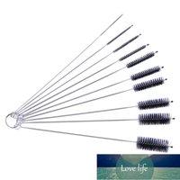 10PCS Nylon Brush Bottle Brushes Kit Pipe Bong Cleaner Glass Tube Clean Drink Straws Sewing Machines Paint Guns Cleaning Brush