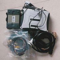 Strumenti diagnostici Auto Diagnosi auto Diagnosi C3 Multiplexer SD Star MB Connect 3 232 485 Cavo con software SSD Laptop CF-19 Pronto all'uso