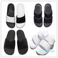 fashion-High Quality Luxury Designer Women Men Summer Rubber Sandals Beach Slide Fashion Scuffs Slippers Indoor Outdoor Shoes