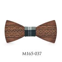 Ahşap papyon el yapımı iş düğün erkek unisex takım elbise gömlek adam hediyeler damat corbatas ahşap papyon kelebek boyun bağları
