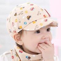 Caps & Hats 2021 Summer Baby Hat Cap Born Pography Props Beanies Kid Boy Girl Toddler Infant Little Car Baseball Beret