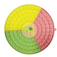 Didget Push Desktop Toy Toy Popper Puzzle Настольные декомпрессионные доски Пальцы Пузырьки Сенсорные Развивающие Игрушки Многопользовательские Большие Кости Chessboard Пузырь G72HU0B