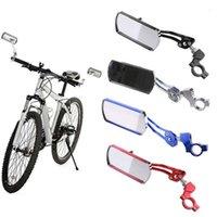 Bike Groupsets Adjustable Mountain Bicycle Handlebar Side Rearview Mirrors Glasses Speedometer Headlight Light Lamp Holder