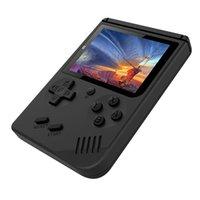 اللاعبون لعبة المحمولة Coolbaby RS-6 وحدة التحكم البسيطة الرجعية المحمولة 8 بت 3.0 بوصة لون lcd الاطفال لاعب المدمج في 168 مباراة