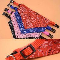 Saliva Small Animal Dog Collars Supplies Towel Triangle Collar Polyester Pet Bib Scarf New Type