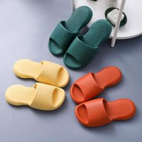 Slippers High Quality Women Bath Shower Summer Girl Soft Sole Home Sandals Men Indoor Household EVA Anti-Slip Designer Slides