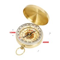 Outdoor Gadgets Camping Compass Cross-Country Luminous Sports Multifunctional Portable Self-Driving Adventure Orientation Instrument