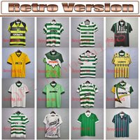 Retro Celts Larsson Soccer Jerseys 84 86 87 88 91 95 96 97 98 99 00 02 02 Celtic Brattbakk Classic Vintage Old Shirt Calssical Camicia da calcio uniformi
