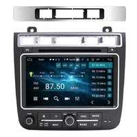 "1280*720 DSP PX6 2 DIN 8"" Android 10 Car DVD Radio GPS Navigation for Volkswagen VW Touareg 2011-2017 Bluetooth 5.0 WIFI CarPlay & Android Auto"