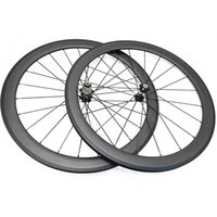 Roues de vélo 700c Carbon Raod 60mm CLINCHER TUBULLE TUBULAIRE 3K MATTE Road 271SB / 372SB HUBS 1690G