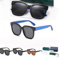 Женские мужские летние солнцезащитные очки 2021 Мода подходит с металлическими буквами Солнцезащитные очки 1 Набор Пакет 4 Цвета Дополнительно