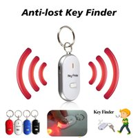 Smart Key Finder Anti-Lost Whistle Sensors Keychain Tracker LED mit Pfeife Claps Locator
