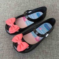 Summer Autumn Children's Fashion Girls' Sandals Bow Button Princess Single Shoes Butterfly Baby Kids Gril's Slippers Candy Colors Shoes H916QQLF
