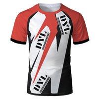 Dyl 2021 neue design herren marke t-shirt für radfahren runing tshirt motorrad reiten t-shirt atmungsaktiv kurzarm jersey teessocer jersey