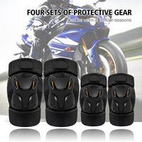 Motorcycle Armor 1 Set Knee Elbow Pads Guards Protective For Cycling Bicycle Skateboard Scooter