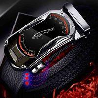 Gürtel Hohe Qualität Plus Größe Echtes Leder Gürtel Metalllegierung Automatische Schnalle Marke Luxus Design Taille Für Männer Strap Männlich
