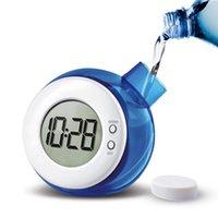 Creative Water Powered Clock Child Desk Table Smart Mute Digital With Calendar Home Decor Kid Gifts & Clocks