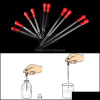 Industrial Mro Office School Business & Industrialdurable Long Glass Experiment Medical Dropper Transfer Pipette Lab Supplies With Red Rub 9