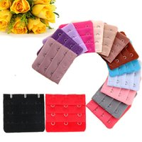 Women Girl Bra Brassiere 3 Rows 3 Hooks Bra Clasp Strap Sewing Notion Tools Intimates Accessories Wholesale 50pcs Lot