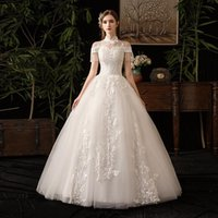 Other Wedding Dresses 2021 Bride Luxury Dress Tik Tok With Princess Collar Tassel Dress.