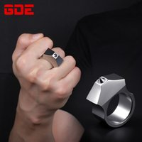 Self Defense Ring Men's Articles Weapon Finger Tiger Wrench and Women's Selfdefense Tungsten Steel Anti Wolf Device 6DFS727
