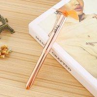 Metal Ballpoint Pen Mini Fan As Students Gift Portable Pocket 2 in 1 Handheld Pens LLA6365