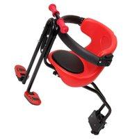 Shedles de vélo Enfants Siège Sécurité réglable Sécurité rapide pour la route MTB pliable (rouge)