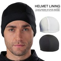 Warm Riding Cap Liner Winter Beanie Hat Universal Thermal Under Helmet For Running Skiing Cycling Hiking Caps & Masks