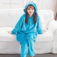 Cookie Monster Red Sesame Womens Sleepwears Street Elmo Onesies Animal Cosplay Costume Pajamas Adults One Piece Pyjamas Hooded Sleepwear