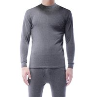 -selling Men's Thickened Underwear Warm Long Autumn Clothes Long Trousers Pajamas Suit Winter Thermal Underwear 211025