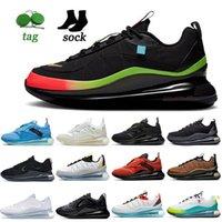 Yaz Kadın Erkek Airsmaxs Koşu Ayakkabıları Dünya Çapında Paketi Siyah Kayma Obj Zirvesi Beyaz Sarı Aksan Eğitmenleri Metalik Bakır Saf Platin Spor Sneakers