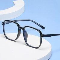 Transparente Squre Gafas Marcos Hombres Mujeres Vintage Óptico Myopia Gafas Retro Eyewear Computador Gafas de sol Gafas de sol