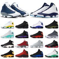 신발 Nike Air Jordan Retro 13 Jordans Jumpman 13s XIII 농구화 남성 여성 레드 부싯돌 다크 파우더 블루 코트 퍼플 아일랜드 그린 리버스 번식 스포츠 스니커즈 트레이너
