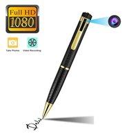 office and school Mini pen Camera Full HD 1080P recording Micro Body Camara Portable Digital Video Voice Recorder with retail box